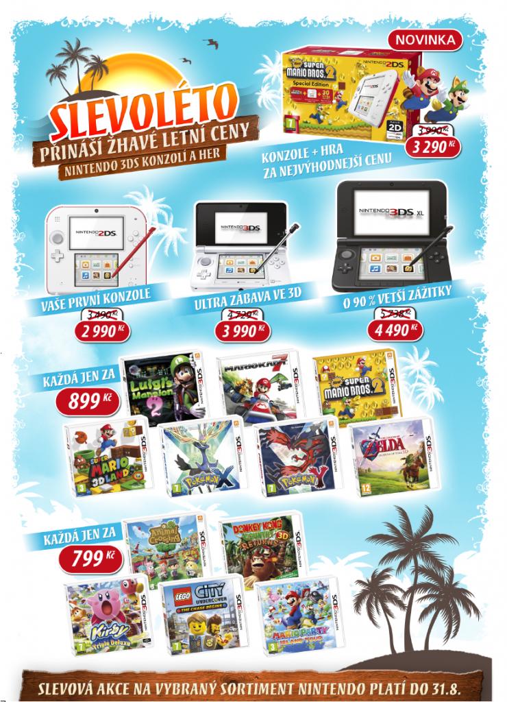 Akční ceny Nintendo