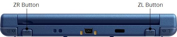 New Nintendo 3DS zadní strana
