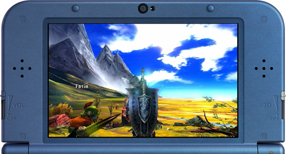 New Nintendo 3DS monster hunter 4