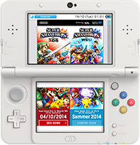 New Nintendo 3DS surfováni