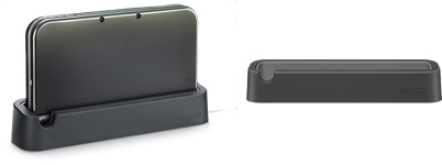 New Nintendo 3DS charging
