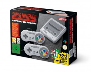 Společnost Nintendo oznámila Nintendo Classic Mini: Super Nintendo Entertainment System