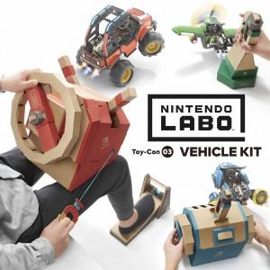 Točte volantem, potápějte se a létejte s novým Nintendo Labo  Vehicle Kitem pro Nintendo Switch