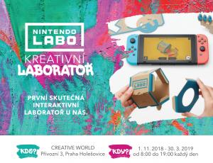 Nintendo Labo kreativní laboratoř