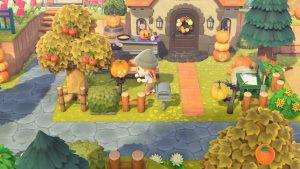 Dýně, kostýmy a Halloween event – podzimní aktualizace Animal Crossing: New Horizons je tady