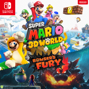 Objevte společně zábavný svět Maria v Super Mario 3D World + Bowser's Fury – nyní dostupné na Nintendo Switch